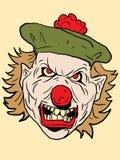 вектор клоуна Стоковое Изображение
