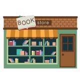 Вектор книжного магазина иллюстрация вектора