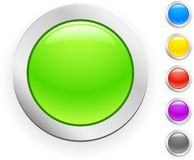вектор кнопки Стоковые Изображения RF