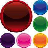 вектор кнопок Стоковое Фото