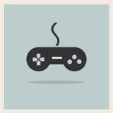 Вектор кнюппеля регулятора видеоигры компьютера Стоковое Фото