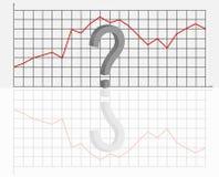 вектор коммерческой статистики Стоковое Изображение