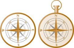 Вектор компаса иллюстрация штока