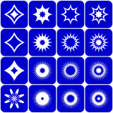 вектор комплекта элементов конструкции Стоковые Изображения RF