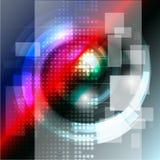 Вектор конспекта концепции технологии Стоковые Фотографии RF