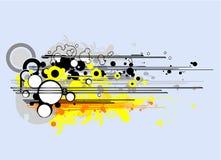 вектор конструкции ретро Стоковое Изображение