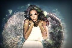 вектор конструкции украшения красотки ангела ваш Стоковые Фотографии RF