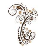 вектор конструкции флористический Стоковые Изображения
