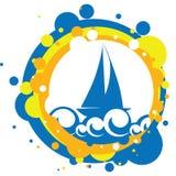 вектор корабля моря иллюстрации бесплатная иллюстрация