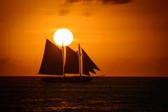 вектор корабля океана иллюстрации Стоковые Фото