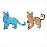 вектор котов милый стоковые изображения