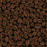 вектор кофе безшовный Стоковая Фотография RF