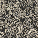 вектор красивейшей флористической иллюстрации безшовный Стоковая Фотография