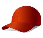 вектор красного цвета крышки Стоковая Фотография