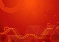 вектор красного цвета предпосылки Стоковые Изображения RF