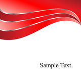 вектор красного цвета предпосылки Стоковая Фотография RF