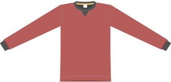 вектор красного цвета ткани Стоковые Изображения RF