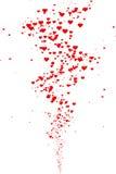 Вектор красочных цветков изолированных на белизне Стоковое Изображение