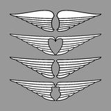 Вектор крылов Стоковые Фотографии RF