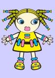 вектор куклы Стоковое фото RF