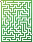 вектор лабиринта иллюстрации Стоковое Изображение