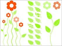 вектор листьев иконы Стоковое Фото