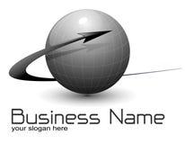 вектор логоса глобуса Стоковая Фотография RF