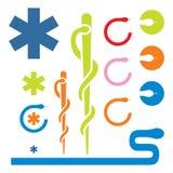 вектор логоса медицинский Стоковые Фотографии RF
