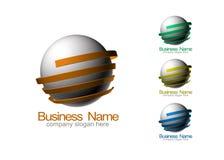 вектор логоса предпринимательства Стоковое Изображение
