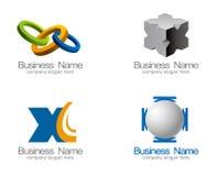 вектор логоса предпринимательства Стоковая Фотография RF
