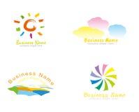 вектор логоса предпринимательства Стоковые Изображения