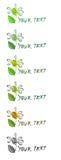 вектор логоса стоцвета Стоковые Фотографии RF