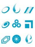 вектор логоса Стоковые Изображения RF