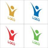 вектор логоса Стоковые Изображения