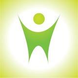 вектор логоса Стоковое Фото