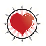 вектор логоса emo Стоковое Фото