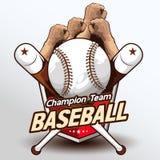 Вектор 223 логотипа бейсбола иллюстрация вектора