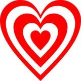 Вектор логотипа сердца красного цвета 3, высокое разрешение, полезный символ любов логотипа бесплатная иллюстрация