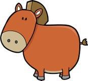 вектор лошади Стоковая Фотография RF