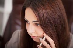 вектор людей jpg иллюстрации дела Портрет женщины в офисе Стоковые Изображения RF