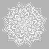 Вектор мандалы Мандала с этническим орнаментом Стоковые Изображения