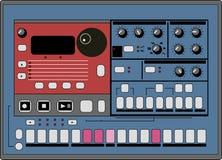 вектор машины барабанчика Стоковое Фото