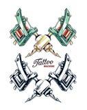 Вектор машины татуировки Стоковое Фото