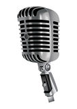 вектор микрофона Стоковые Изображения