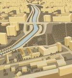 вектор миниатюры города иллюстрация штока