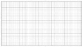 Вектор миллиметра бумажный серо Миллиметровка для проектировать, образование, рисуя проекты Измерение бумаги решетки диаграммы иллюстрация штока