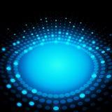 вектор многоточий абстрактной предпосылки 3d цветастый иллюстрация вектора