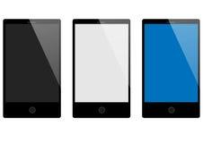 вектор мобильных телефонов иллюстрации элементов конструкции Стоковые Изображения