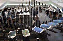 вектор мобильных телефонов иллюстрации элементов конструкции Стоковая Фотография RF