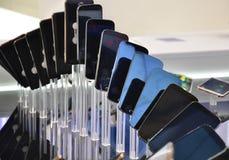 вектор мобильных телефонов иллюстрации элементов конструкции Стоковые Фото
